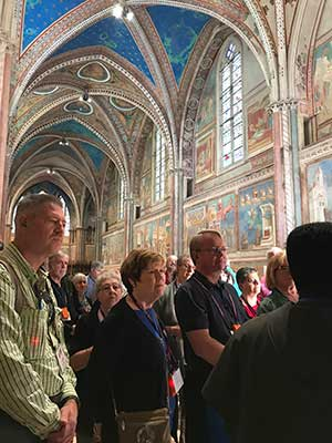 Touring Basilica of Saint Francis.JPG