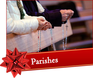 Make a gift to a parish